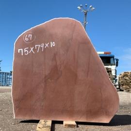 Hauakivi NR67- 75x79x10 cm - ainult materjal
