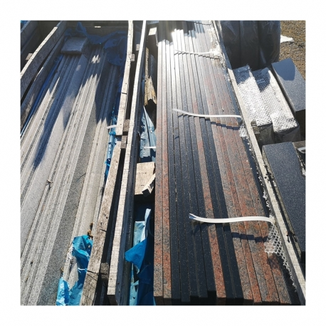 Graniitplaat 210x20x2 cm  - ainult materjal