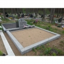 2 места - фундамент с арматурой - Полированный бетон
