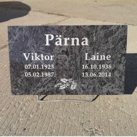 Hauaplaat 2 NIMED +PILT+ Saatmine üle Eesti
