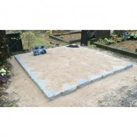 Бутовые камни (для урн) 125x125x10 cm