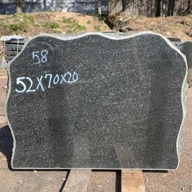 Памятники NR58- 52x70x20 cm  только материал